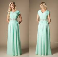 mint green bridesmaid dresses mint green modest bridesmaid dresses small v neck sleeves a