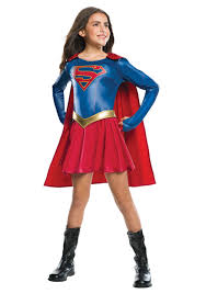 Halloween Costumes Fir Girls Girls Supergirl Tv Costume