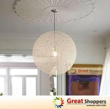 white dome pendant light free shipping dia 20cm white wicker ball pendant light modern brief