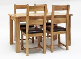 Dining Table Sets Oak by B And M Oak Table And Chairs Kashiori Com Wooden Sofa Chair