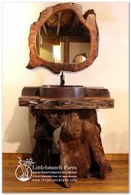 Log Vanity Rustic Log Vanities Rustics U0026 Log Furniture