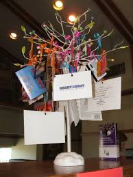 gift card trees get each child to bring a gift card for any amount and hang it on
