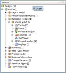 tutorial oracle data modeler reverse engineering a data model using oracle sql developer