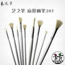 fan brush oil painting usd 4 71 art of the pen fan brush painting mermaid fan brush pig
