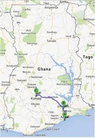Map Of Ghana Herbalists Traditional Healers And Pharmacists A View Of The