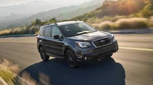 subaru forester lifted 2018 subaru forester gets darkly stylish with new black edition