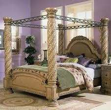 Four Poster Bedroom Sets Wonderful Four Poster Bed Frame Beds Home Furniture Design
