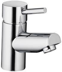 pura xcite single lever small basin mixer tap with clicker waste