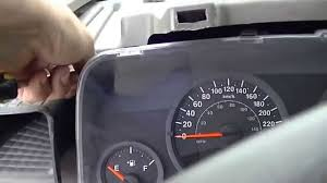how to remove jeep patriot instrument cluster youtube