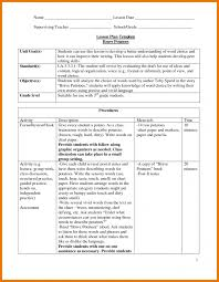 9 lesson plan template doc assistant cover letter weekly google