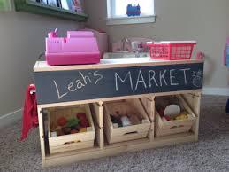 ikea toy storage hacks un étal de marché pour enfant avec trofast kids market kids s