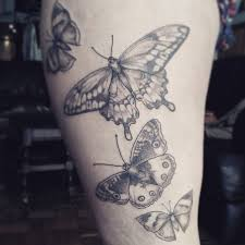 butterfly thigh tattoos designs ideas and meaning tattoos for you