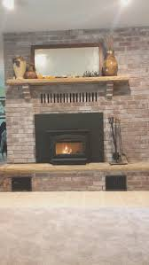 fireplace wood burning fireplace inserts installation interior