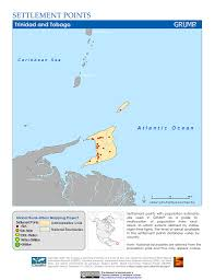 Trinidad And Tobago Map Map Gallery Sedac
