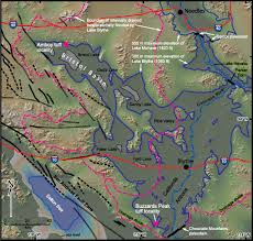 Colorado River On A Map by Review And Analysis Of The Age And Origin Of The Pliocene Bouse