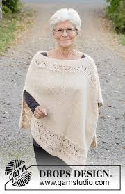 drops design poncho so drops 170 28 free knitting patterns by drops design