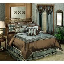 chocolate blue bedding bedding queen
