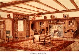 arts and crafts homes interiors the arts and crafts movement
