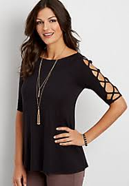 Black Blouses For Work Shirts U0026 Blouses For Women Maurices