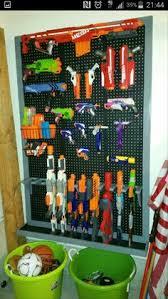 Nerf Storage Wall To Do Pinterest