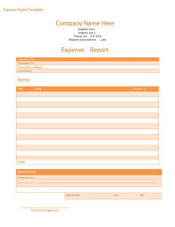 40 expense report templates to help you save money template lab