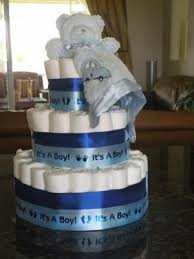 it u0027s a boy diaper cake this was my first diaper cake i made