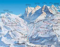 Swiss Alps Map Grindelwald Swiss Ski Resort J2ski