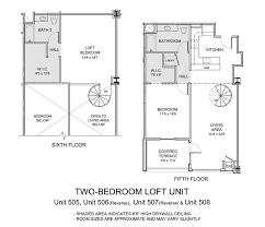 two story loft floor plans 1500 condominium live boldly live here