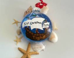personalized baby u0027s 1st christmas ornament pirate ship christmas