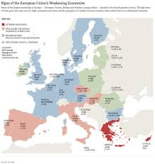 Real World Map Map Of The European Union U0027s Weakening Economics Real World