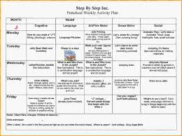 weekly lesson planner template sample lesson plan for preschool preschool weekly lesson plan uploaded by nasha razita