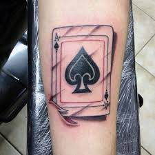 24 awesome ace of spades tattoos with powerful meanings tattoos win