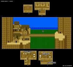dragon quest v town u0026 castle maps snes realm of darkness net