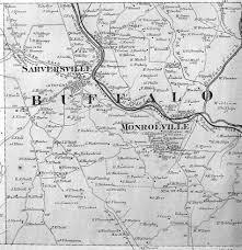 Montgomery Mall Map Butler County Pennsylvania Maps 1874