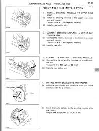 1997 lexus lx450 manual tutorial front wheel bearing replacement clublexus lexus