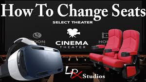 movie theater seats for home how to change seats in oculus cinema for samsung gear vr youtube