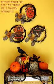 tutorial retro fa boo lous halloween wreaths u2013 dollar store crafts
