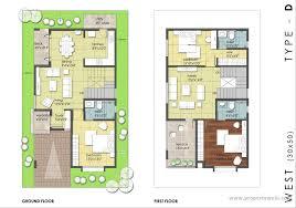 West Facing House Vastu Floor Plans Vastu Compliant Home Plans Home Plans