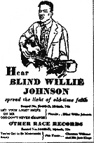 Blind Willie Johnson The Enlightenment By Terence Nuzum Nolan U0027s Pop Culture Review 100