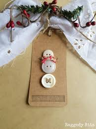 simple vintage christmas gift wrapping ideas raggedy bits