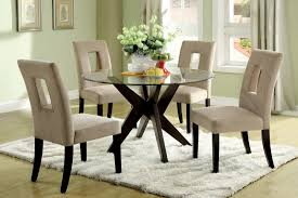 small glass kitchen table dining room chairs for glass top dining table contemporary glass