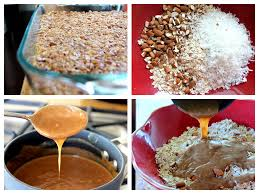 Chewy Almond Butter Power Bars Foodiecrush Com by No Bake Dark Chocolate Coconut Almond Granola Bars Ambitious Kitchen