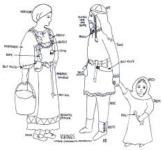 viking anglo saxon hairstyles norse clothing women usually wore an under dress a dress and an