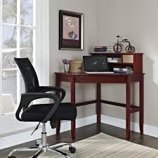 fineboard lshaped office corner desk 2 side shelves black