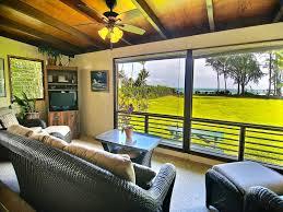 Kauai Cottages On The Beach by Hanalei Moon Beach Cottage Kauai Vacation Home Rental
