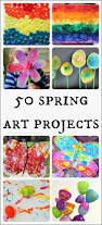 Halloween Crafts For 6th Graders by 50 Beautiful Spring Art Projects For Kids