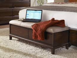 Simple Storage Bench Plans by Wooden Bedroom Storage Bench Design Ideas With Benches For Images
