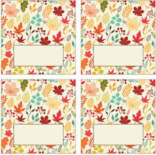 free printable place cards for thanksgiving
