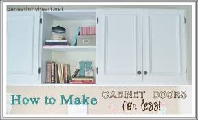 diy simple kitchen cabinet doors how to make your own cabinet doors beneath my