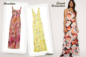 Yellow Dresses For Weddings Wedding Guest Dresses Floral Dresses For Weddings Onefabday Com